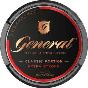 General Extra Stark Portionssnus