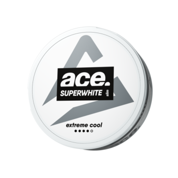 ace cool extreme all white snus