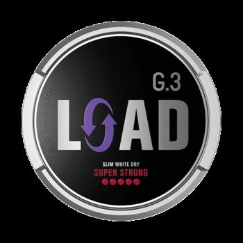 G.3 LOAD Slim White Dry Super Strong Portionssnus General G.3 LOAD Slim White Dry Super Strong Portion är ett starkt, vitt och torrt snus från Swedish Match. Snuset har 20% lägre rinnighet och innehåller 30% mer nikotin jämfört med vanliga General G.3 Extra Strong. General G.3 LOAD Slim White Dry Super Strong Portionsmakar av lakrits och eukalyptus, samt en touch av anis, kakao och honung. Detta kombineras med en ljus och kryddig tobakskaraktär. Snusets låga rinnighet och höga nikotinhaltger både en långvarig smak och styrka. General G.3 T.N.T Slim White Dry Super Strong Portionssnus General G.3 T.N.T Slim White Dry Super Strong Portion är en kraftfull nyhet från Swedish Match. Snuset har en tydlig, ljus och kryddiggrundsmak av tobak ochsmakpaletten innehåller annars inslag avgröna örter, ek, ceder och nöt. Nikotinstyrkan i de slimmade och torra whiteportionerna landar på 26 mg/g och gör snuset 30% starkare än G.3 Extra Strong. Rinnigheten är också 20% lägre än G.3-portioner i vanligt slim-white-format. Om produkten General G.3 Extra Strong Slim White Portionssnus General G.3 Extra Strong Slim White har en optimeradpassform, högnikotinhalt och portioner som räckerlänge och väl för den gemene snusaren. I grunden ligger Johan A Bomans klassiska recept som förser smaken med sin välbekanta pepprighet och inslag av citrus. Se alla General här Fakta om produkten Varumärke G.3 Produkttyp White portion Styrka Extra Starkt Nikotinhalt 18 mg/g Innehåll/förpackning 16,6 g Snustyp Slim White Portion Format Slim Producent Swedish Match, snushandel i nyköping ab sverige svenskt snus swedish snus snuff, påljungshage köpcentrum öppettider, tobak, snusbutiken snusbutik, General G.3 Extra Strong Slim Portionssnus Varumärket General har kommit att bli en riktig klassiker i snusvärlden. Här har vi 3:e generationens generalsnus från varumärket, nämligen General G.3 Extra Strong Slim! Med sin optimerade passform och höga nikotinhalt ska dessa portioner räcka länge och väl för den gemene 
