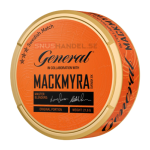 General Mackmyra portionssnus