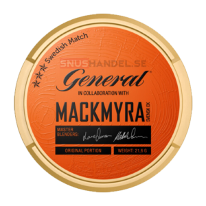 General Mackmyra portions snus