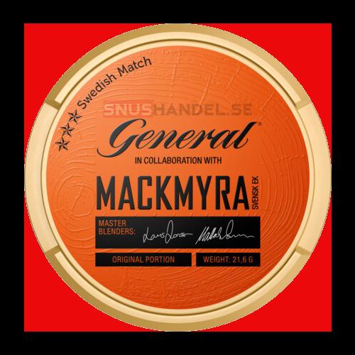 General Mackmyra portions snus
