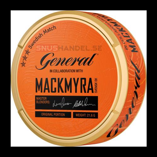 General Mackmyra portionssnus
