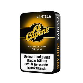 Om produkten Al Capone Coffee White Minisnus Upplev moderna Al Capone med kaffesmak! Al Capone Coffee White Mini är ettmodernt ochtorrt minisnus med smak av kaffe. De diskreta miniprillorna har en nikotinhalt på 8 mg/g som både levereras snabbt och över lång tid. Snuset behöver ej kylförvaras och kommer i en praktiskliten dosa med plats för använda prillor på baksidan. Fakta om produkten Varumärke Al Capone Produkttyp White portion Styrka Normal Nikotinhalt 8 mg/g Innehåll/förpackning 6 g Snustyp Mini Portion Format Mini Producent Råå S snushandel i nyköping ab påljungshage köpcentrum billigt snus online, Om produkten Al Capone Mint White Minisnus Upplev det nya sättet att snusa! Al Capone Mint White Miniär ettmodernt, torrt och diskret minisnus med minimal rinnighet. De små portionernalevererar en snabb frisättning av nikotin och enlångvarigochintensiv smak av mint. Nikotinhalten iAl Capone Mint White Miniär något högre än i ett vanligt minisnus. Snuset kommer i en praktiskt och stilren dosa och behöver ej förvaras i kylen för att behålla fräschören. Al Capone finns i fyra goda smaker: Mint, Vanilla, Berry och Coffee. Dessa kan du köpa här!, Al Capone Vanilla–moderna miniportioner i modern dosa! Al Capone Vanilla White Mini har en balanserad och söt smak av vanilj som levereras i diskreta miniportioner med låg rinnighet. Nikotinet i prillorna frigörs snabbt och smaken håller i sig länge på grund av portionernas torra yttre.Nikotinhalten på 8 mg/g är något högre än ett vanligt minisnus. De praktiska och snygga dosorna behöver inte kylförvaras och på baksidan finns det ett lock med plats för använda prillor.