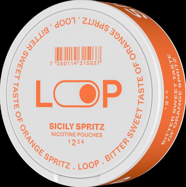 Loop Jalapeno lime är ett nytt all white snus från Another snus Factory. Ett All white snus med jalapeno lime smak som ger en helt ny snus upplevelse. Nikotin utan tobak, snushandel i nyköping ab, LOOP SICILY SPRITZ