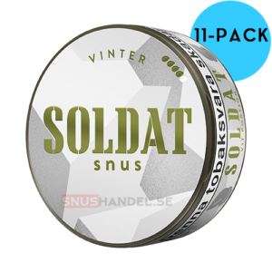 soldat vinter portion snus