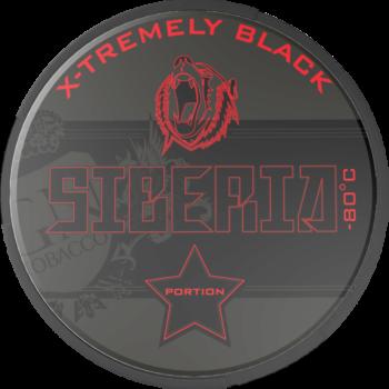 Siberia X-Tremely Black Portionsnus
