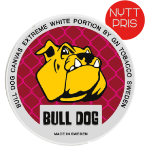 bull dog canvas extreme snus