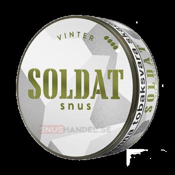 soldat vinter snus