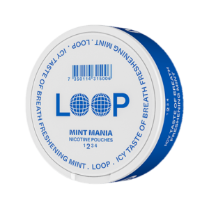 Loop mint mania snus