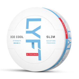 lyft ice cool mint all white snus