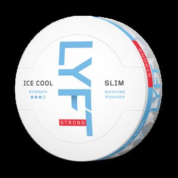 lyft ice cool mint all white snus