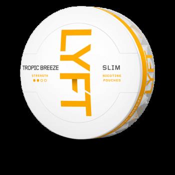 LYFT Tropic Breeze Slim All White Portion snus
