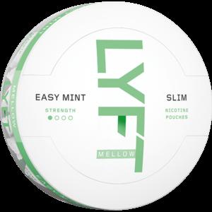 Om produkten LYFT Easy Mint Mellow Slim All White Portion Lyft Easy Mint är en fräsch mint-upplevelse med en lägre nikotinhalt. LYFT är helvita, smakrika portioner fyllda med innovation. Med LYFT får du en banbrytande effektiv nikotinupplevelse och spännande smaker helt utan tobak. Portionerna i slim-format sitter bekvämt under läppen och rinner mindre Hela LYFT sortimentet hittar du här Fakta om produkten Varumärke Lyft Produkttyp All white portion Styrka svagt Nikotinhalt 6 mg/g Innehåll/förpackning 16,8 g Snustyp Svagt All White Format Slim Producent BAT