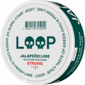 Loop Jalapeno lime snus