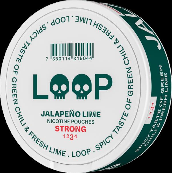 Loop Jalapeno lime snus