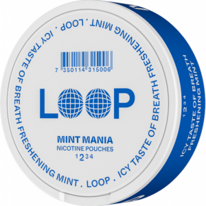 loop mint maina all white