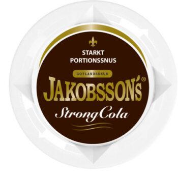 Jakobssons Strong Cola Portionssnus, snushandel i nyköping ab