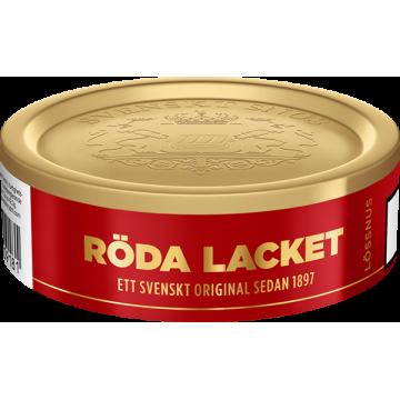 röda lacket svenskt lös snus