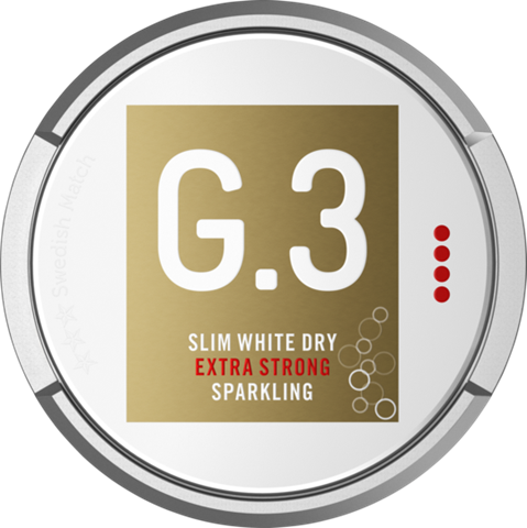 g3 sparkling portionssnus slim extra strong
