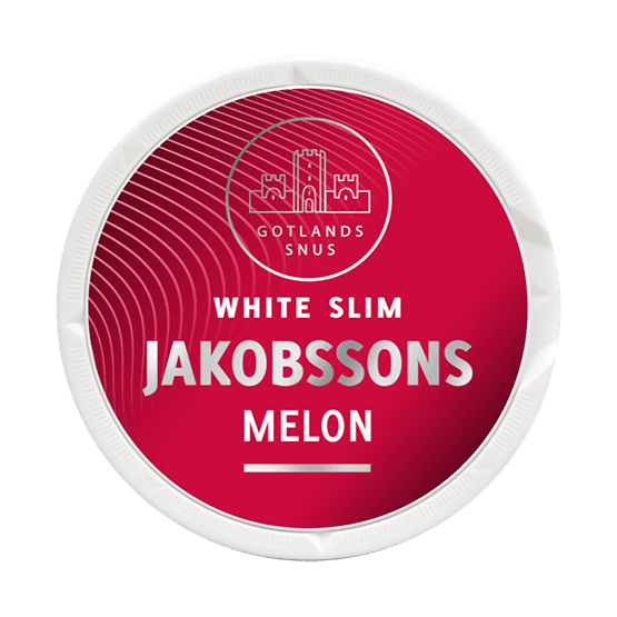 jakobssons melon slim strong snus