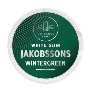 Jakobssons Wintergreen Slim White Portion snus