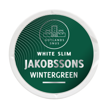 Jakobssons Wintergreen Slim White Portion snus