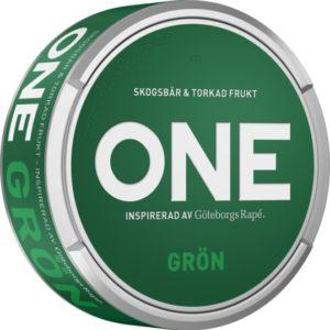 Nya one snus grön portion snus