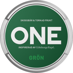 one grön portion snus