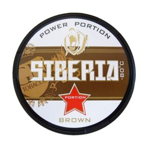 siberia snus brown snus portionssnus, black siberia, strong snus, starkt portionssnus
