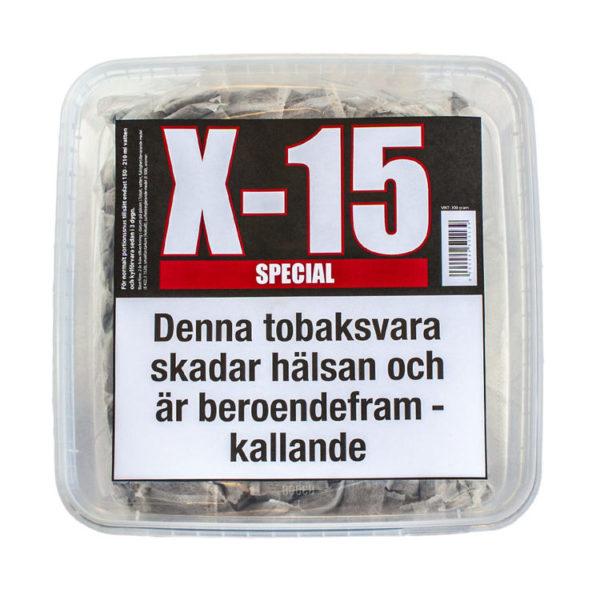 x 15 snus portion, gör eget snus