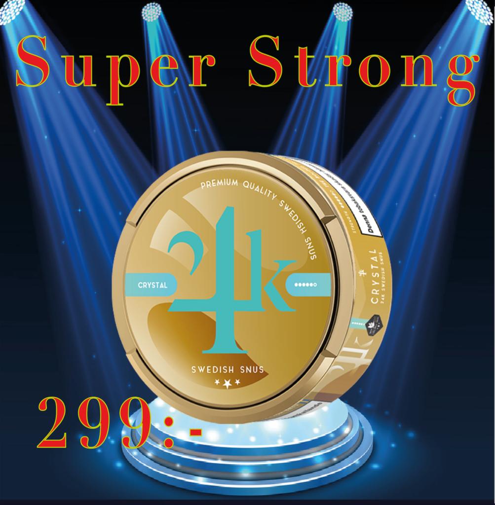 24k snus crystal