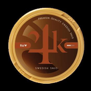 24k raw snus