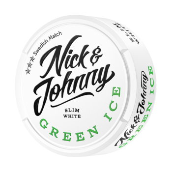 nick and johnny snus green ice