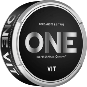 nya one vit white snus