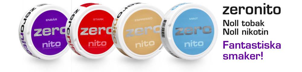 zeronito nikotinfritt snus