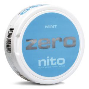 Zero mint nikotinfritt snus