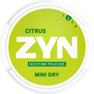 zyn 3mg mininsus citrus
