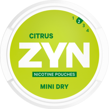 zyn 3mg mininsus citrus