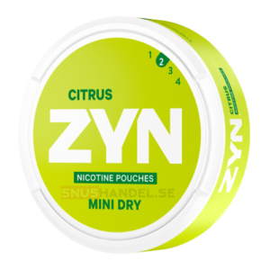 zyn citrus mini svag