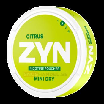zyn citrus mini svag