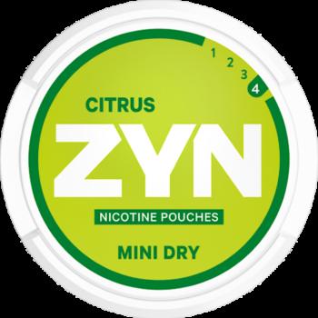 zyn citrus strong mini