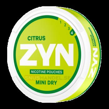 zyn citrus mini 6mg stark