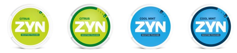 zyn snus all white pouches