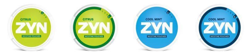 zyn snus all white pouches