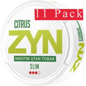 ZYN Slim Citrus Strong snus