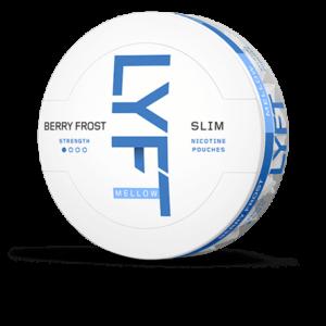 lyft berry frost all white snus