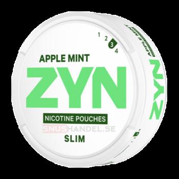 zyn apple mint all white snus