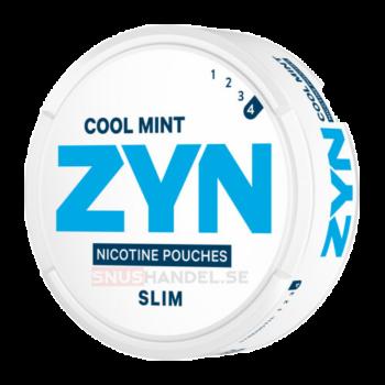 Zyn slim cool mint strong all white snus