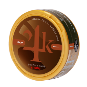 24K snus raw Strong White Dry snus